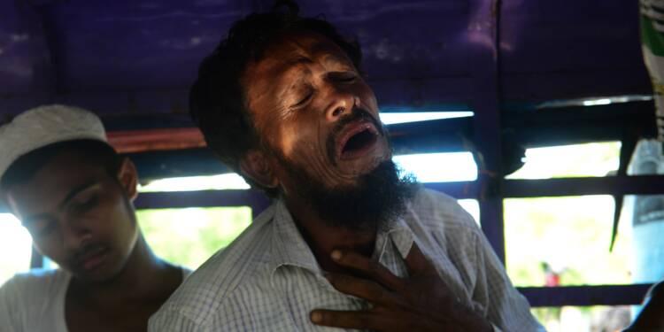 Aux funérailles des naufragés rohingyas, un hurlement de douleur