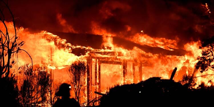 Californie: dix morts dans des incendies monstres dans la région des vins