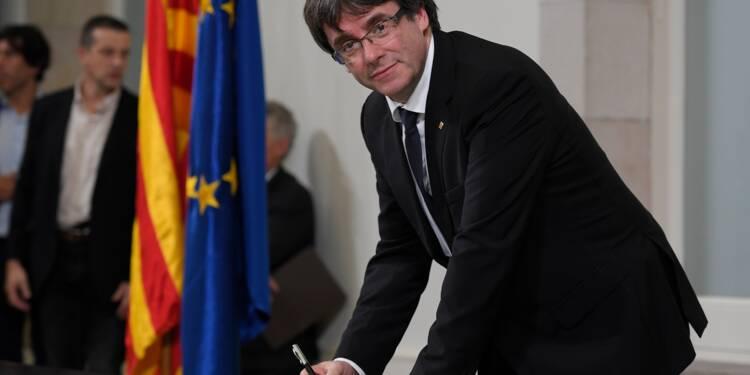 Catalogne : le président catalan pris entre deux feux