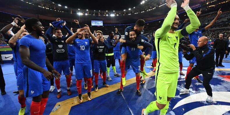 Mondial-2018: France et Portugal qualifiés, Suède, Grèce et Suisse en barrages