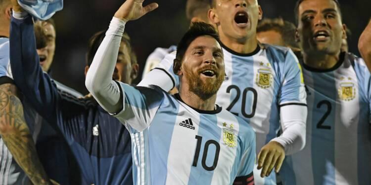 Mondial-2018: Messi qualifie l'Argentine, le Chili éliminé