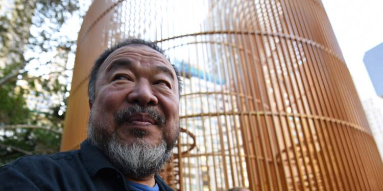 Cage dorée sous la Trump Tower: le Chinois Ai Weiwei honore New York