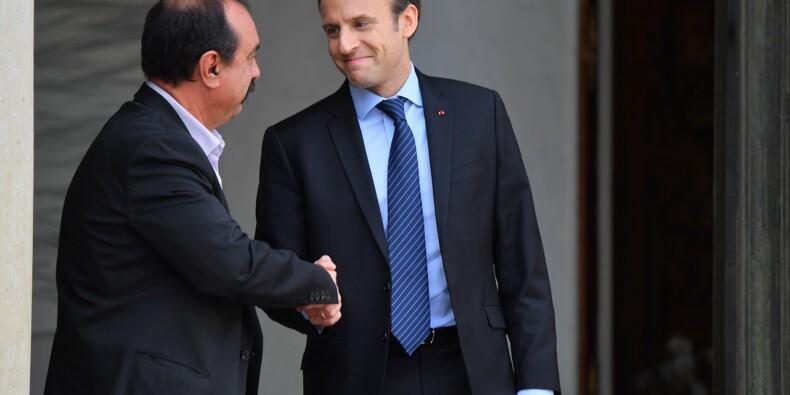 Macron reçoit syndicats et patronat pour lancer la nouvelle réforme sociale