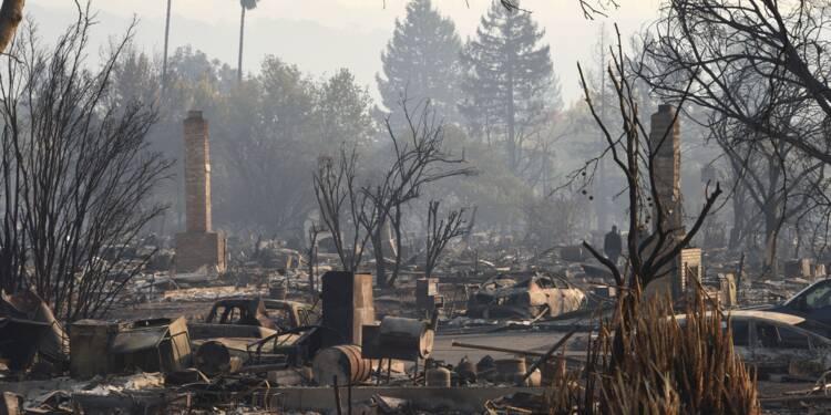 """Incendies en Californie: """"j'avais ma vie dans cette maison"""""""
