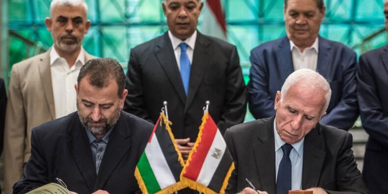 Le Fatah et le Hamas palestiniens signent un accord de réconciliation