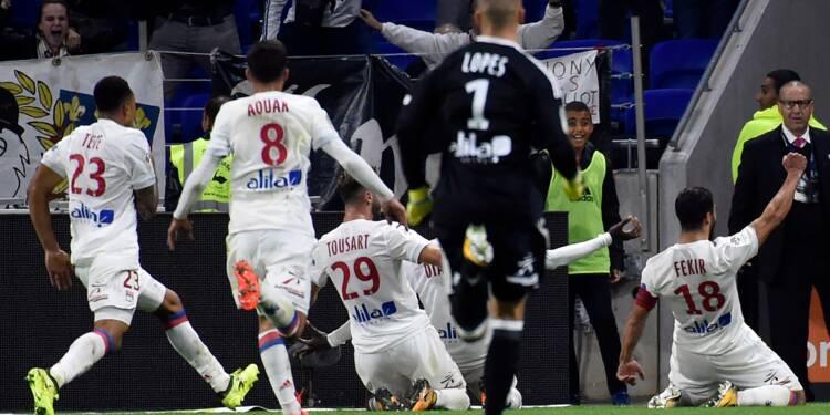 Ligue 1: Fekir assomme Monaco sur le fil