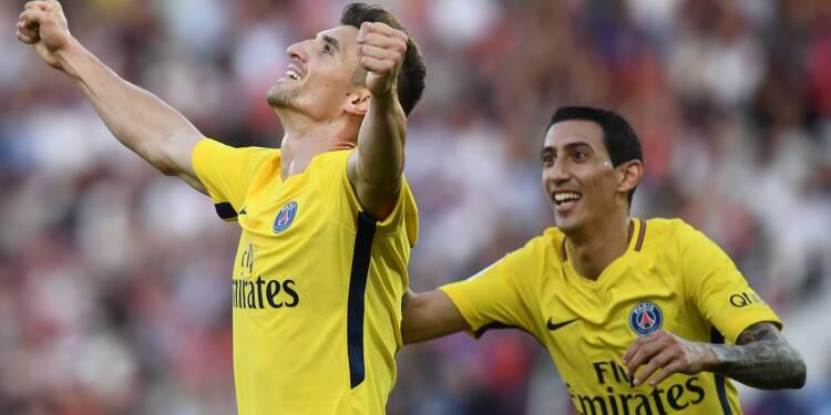 Ligue 1: un doublé de Meunier sauve le Paris SG à Dijon