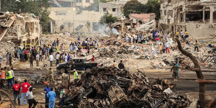 Somalie: au moins 137 morts et 300 blessés dans l'attentat de Mogadiscio