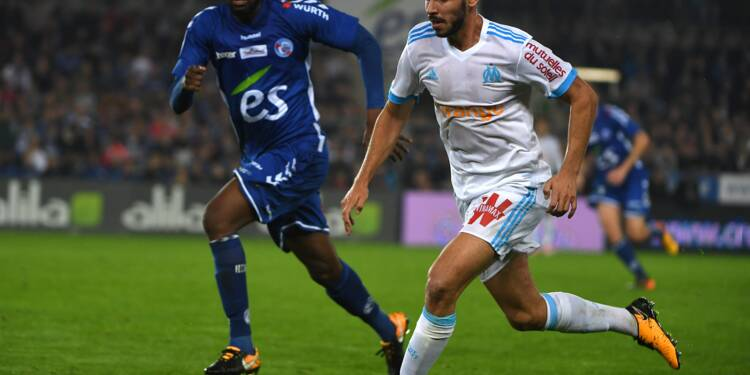 """Ligue 1: Marseille arrache le nul à Strasbourg 3-3 avant le """"clasico"""""""