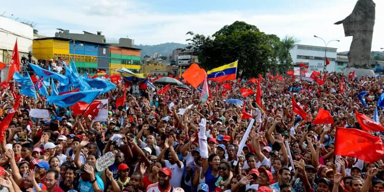 Elections au Venezuela: victoire officielle du camp Maduro, l'opposition conteste