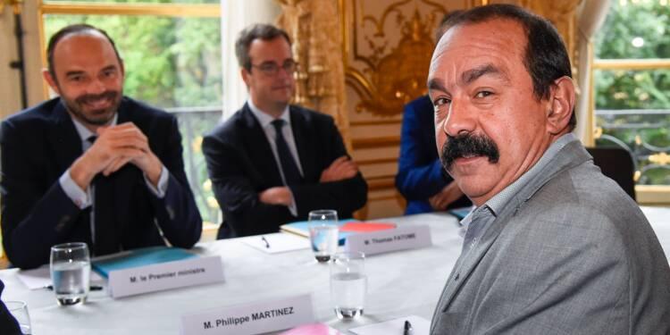 Chômage et formation: les consultations se poursuivent à Matignon