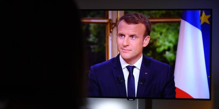 Interview Macron: succès d'audience avec 9,5 millions de téléspectateurs
