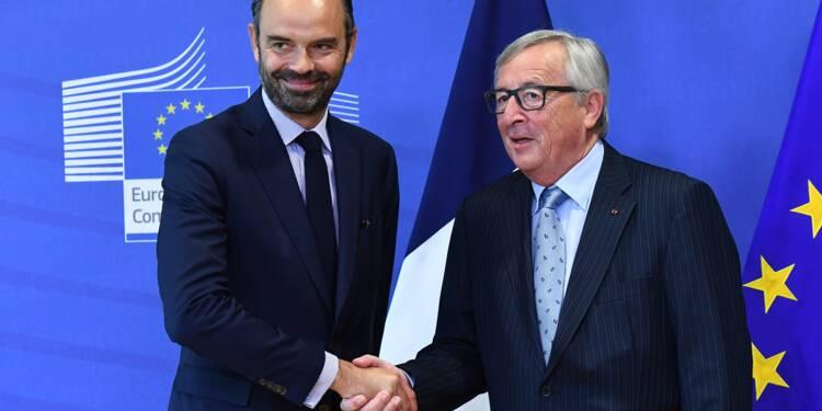 Edouard Philippe à Bruxelles pour vanter son budget