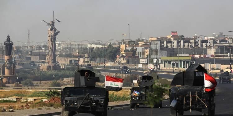 Les forces irakiennes reprennent aux Kurdes le fief yazidi de Sinjar