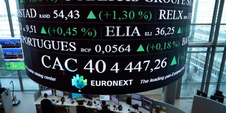 La Bourse de Paris de nouveau bousculée par la guerre commerciale