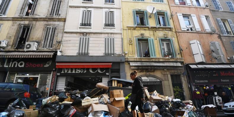 Poubelles à Marseille: la tension retombe après le déblocage de plusieurs sites