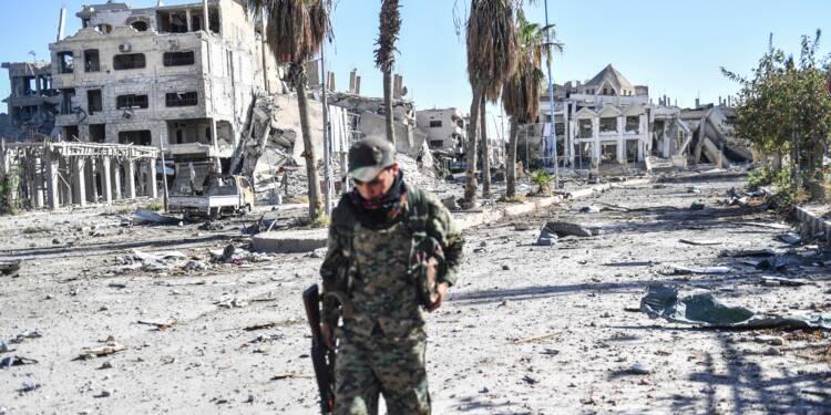Corps en décomposition et prisons désertes dans Raqa sans jihadistes