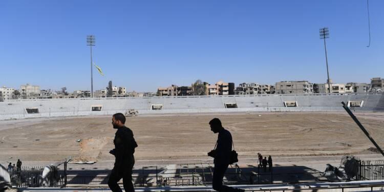 Déminage et fouille des tunnels de Raqa avant de proclamer la libération officielle