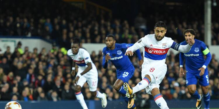 Europa League: Lyon montre les dents et mouche Everton