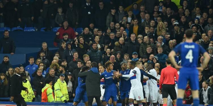 Everton-Lyon: la police britannique enquête sur les échauffourées