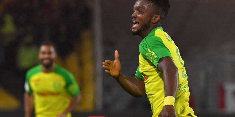 Ligue 1: Nantes arrache le podium en battant Guingamp