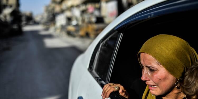 Syrie: le temps d'une journée, voir Raqa et pleurer