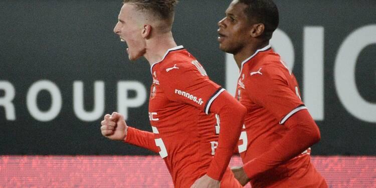 Ligue 1: Rennes s'offre un bol d'air, Lille la tête dans le seau