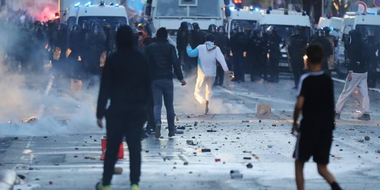 Clasico OM-PSG: dix supporters marseillais interpellés, trois blessés légers