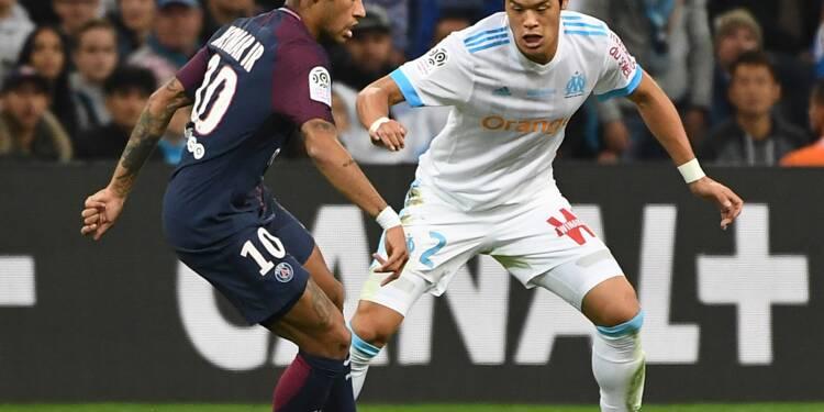 Ligue 1: Neymar (PSG) exclu contre Marseille pour son premier clasico
