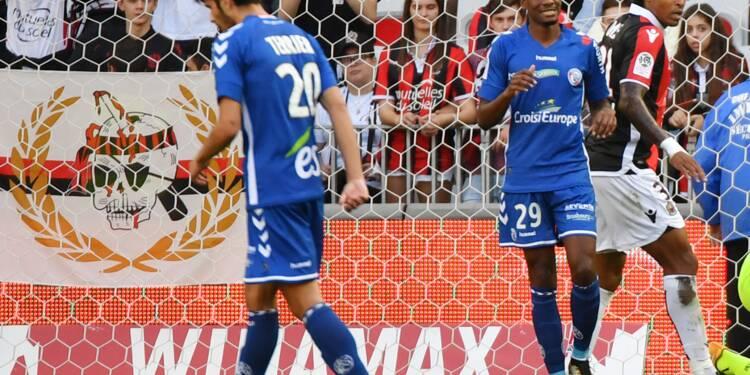 Ligue 1: même à 11 contre 10, Nice n'y arrive plus