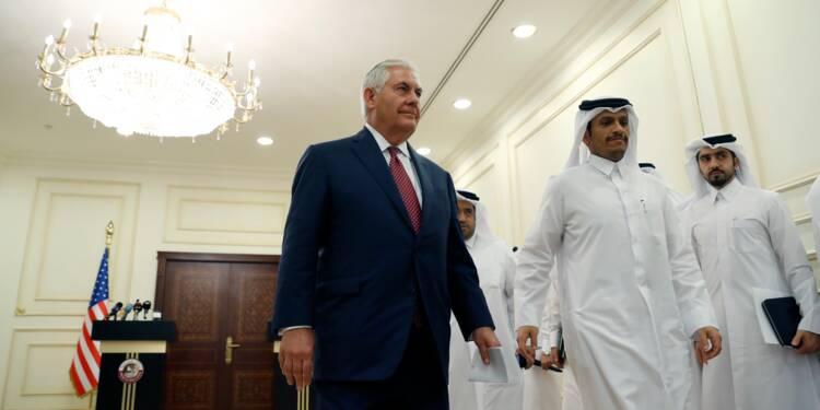 """Moyen-Orient: Tillerson en mission pour """"contrecarrer"""" l'influence """"négative"""" de l'Iran"""