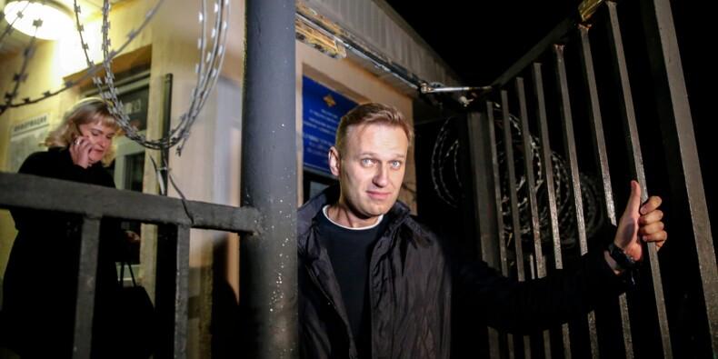 Russie : sitôt libéré, l'opposant Navalny repart en campagne