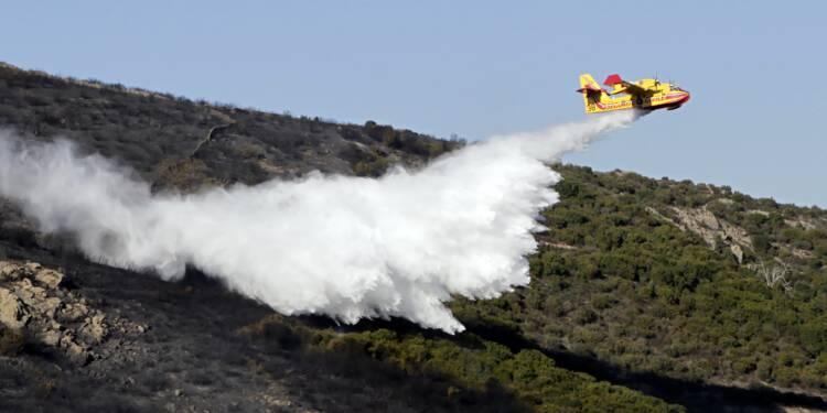 Incendie en Haute-Corse: 1.600 hectares de végétation détruits en 24 heures