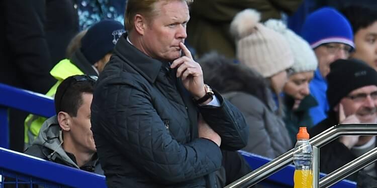 Angleterre: Everton se sépare de son entraîneur Ronald Koeman