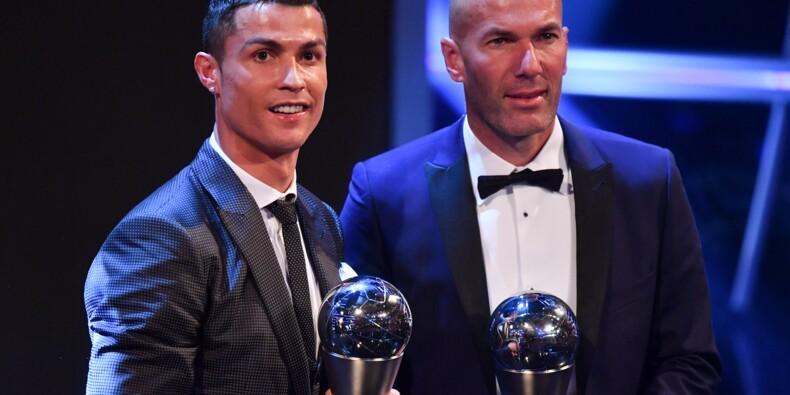 Prix Fifa: avec Ronaldo et Zidane, le Real Madrid rafle tout