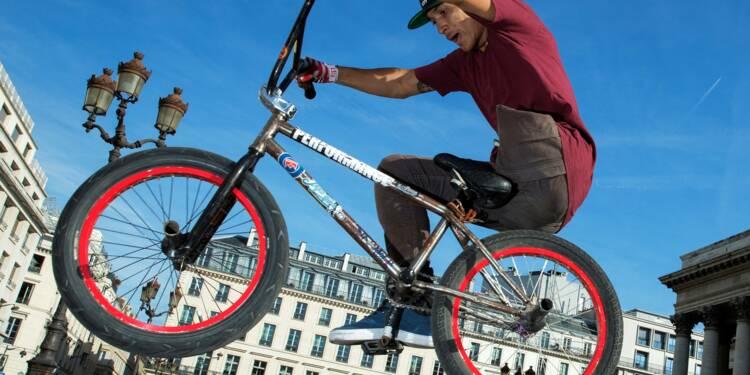 BMX: amputé d'une jambe, le jeune Julian Molina est devenu un rider magique