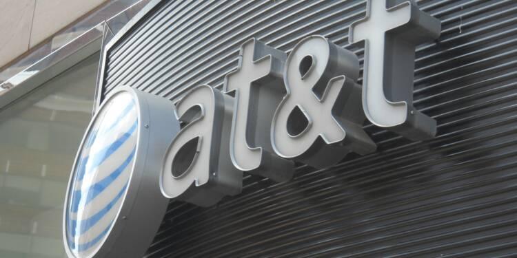 AT&T pâtit des catastrophes naturelles et de ses activités historiques