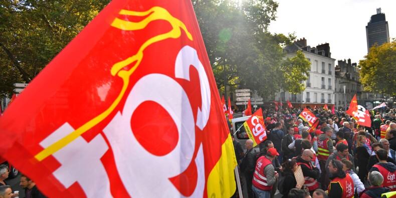 """Intempéries: la CGT """"reporte"""" la manifestation de cheminots"""