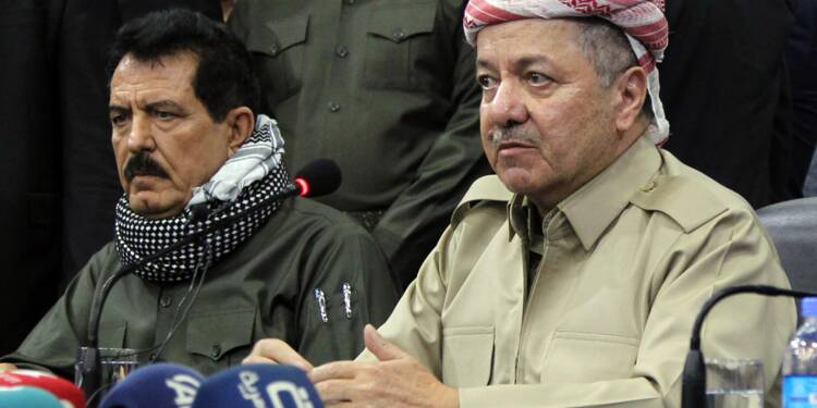 Le Kurdistan irakien prêt à geler les résultats du référendum d'indépendance
