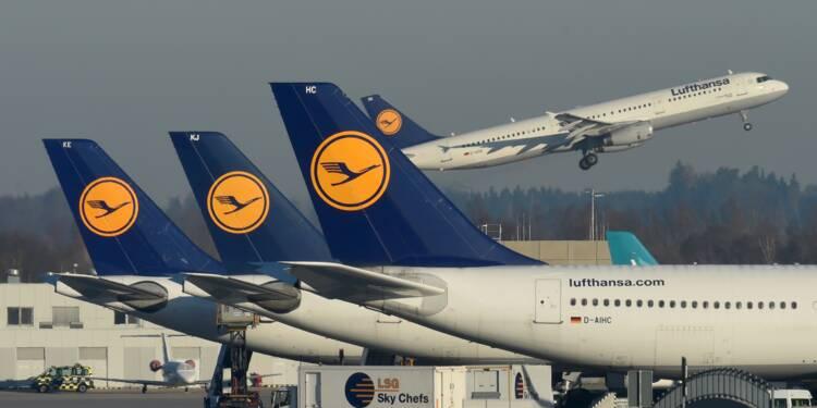 Lufthansa vole tranquillement vers une année 2017 record