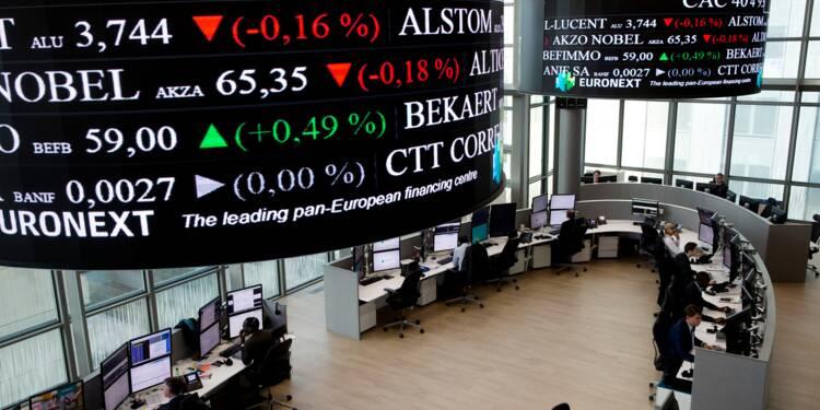La Bourse de Paris reste dans le vert à mi-séance, la BCE au premier plan
