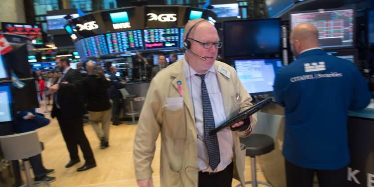 Wall Street, en pleine saison de résultats, termine en ordre dispersé