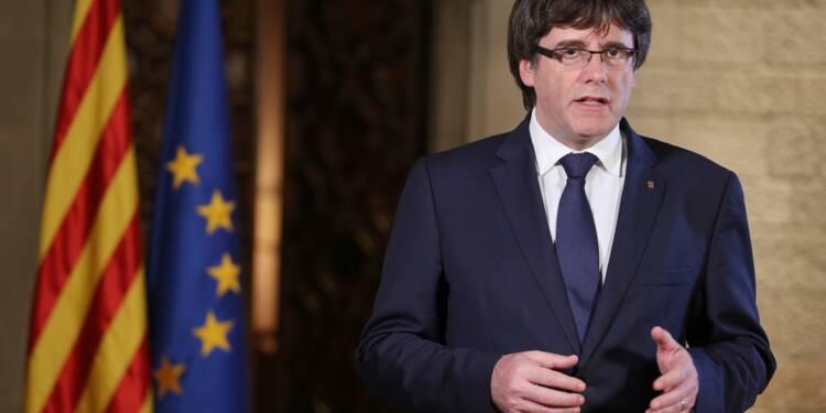 La Catalogne suspendue au discours de son président