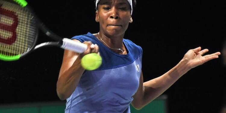 Tennis: Venus Williams élimine Muguruza et accède aux demi-finales du Masters