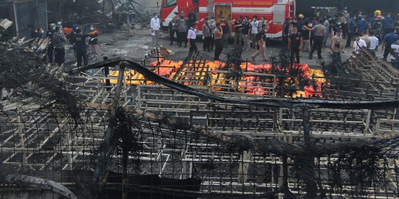 Indonésie: 46 morts dans l'incendie d'une usine de feux d'artifice