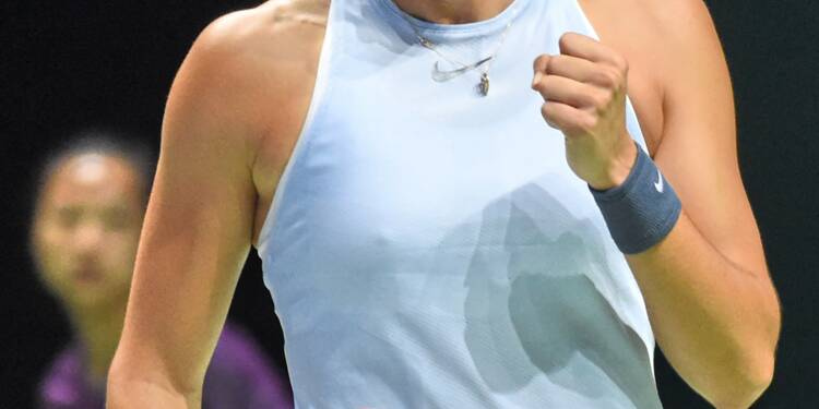 Tennis: Garcia entretient l'espoir des demies au Masters