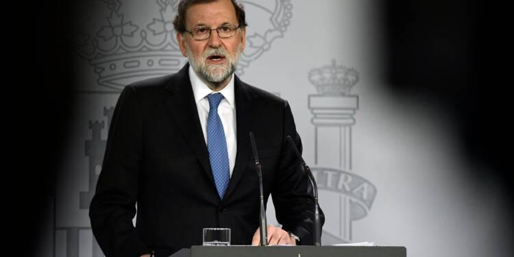 Catalogne: Rajoy destitue le gouvernement régional, élections le 21 décembre
