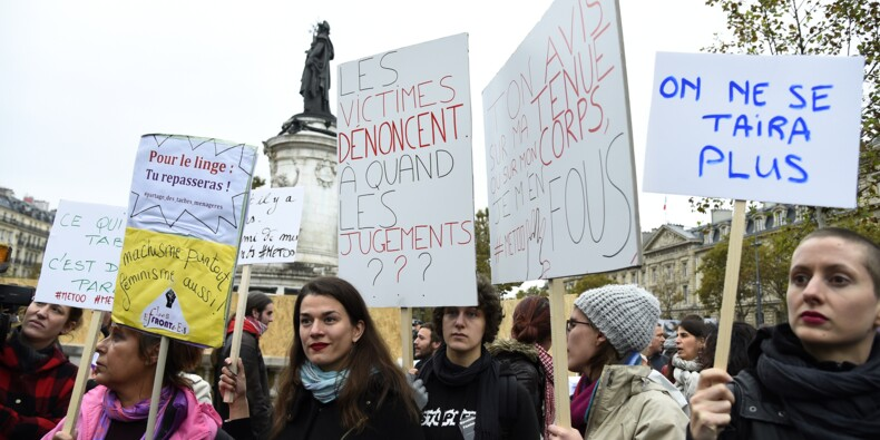 """Macron fait samedi de l'égalité femmes-hommes la """"grande cause"""" de son quinquennat"""