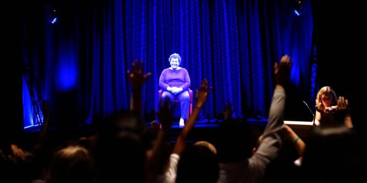 Des survivants de l'Holocauste immortalisés en hologrammes interactifs