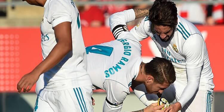 Espagne: en pleine crise catalane, Gérone domine le Real Madrid